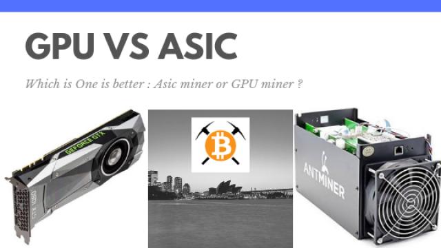 GPU VS ASIC