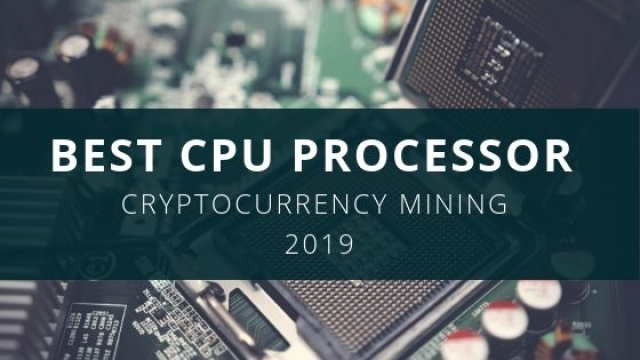 best cpu for cryptocurrency mining