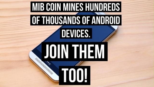 MIB COIN MINING