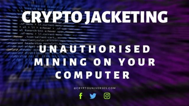 cryptojacketing