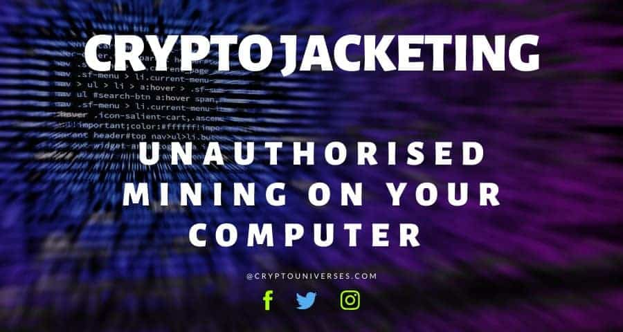 cryptojacketing